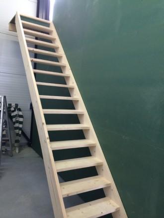 Trap gemaakt voor zonklaar in Sneek om de bovenverdieping te benutten voor een kantine en opslag