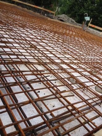 Wapenings- staal voor een garage van 60 m2