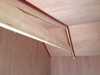 plafond tuin huisje