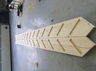 Trap gemaakt voor zonklaar in Sneek om de bovenverdieping te benutten voor een kantine en opslag 2